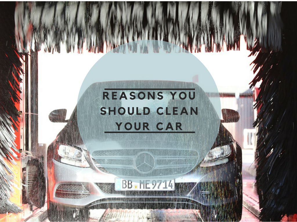 Reasons you should clean your car
