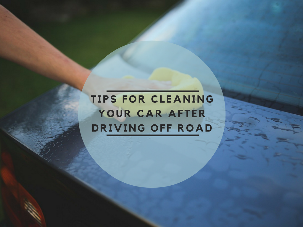 Tips to clean your car after off-road ride
