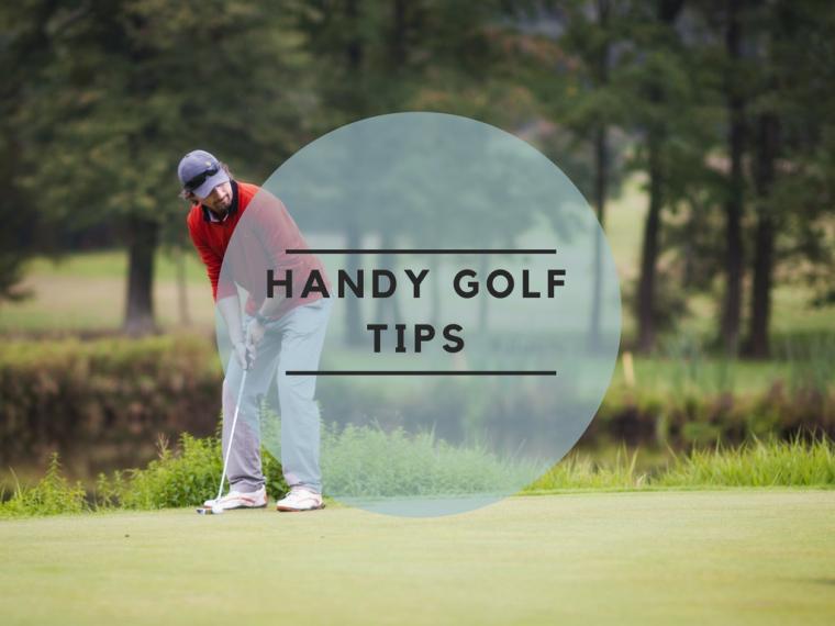 Handy golf tips