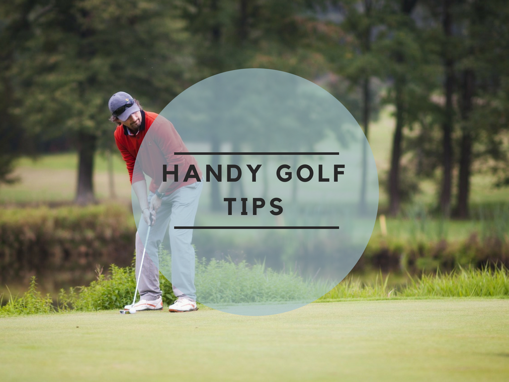 Handy golf tips