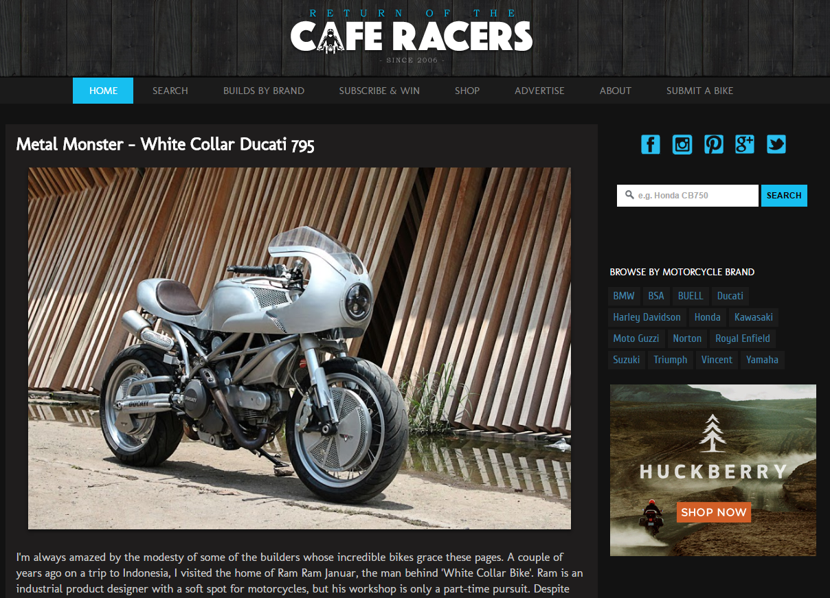 Returen of the cafe Racers