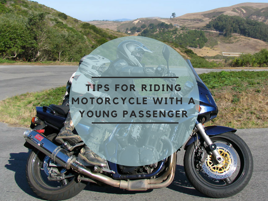 Top Tips for Riding your Motorcycle with a Young Passenger