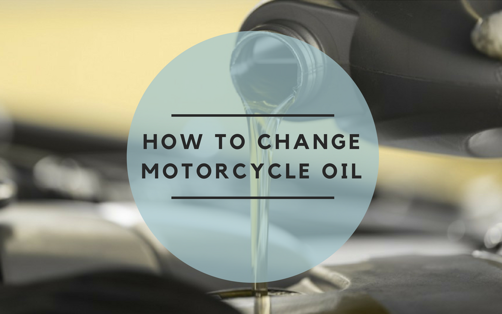 how to chnge motorcycle oil