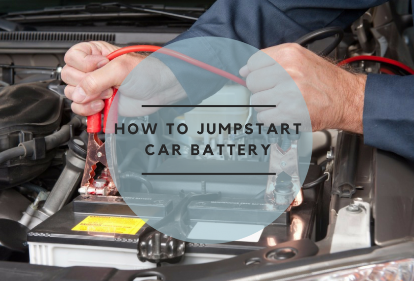 how to jump start car battery