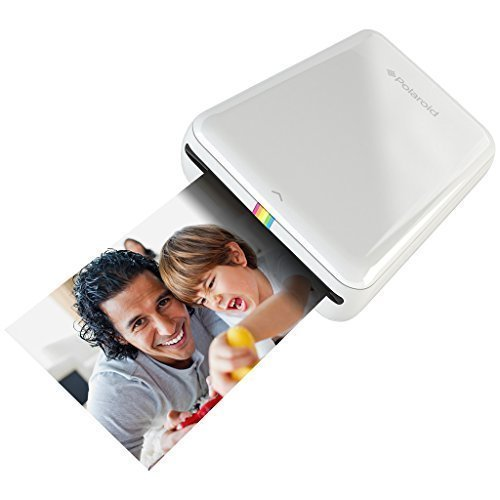 polaroid zip mobile printer w-zink zero ink printing technology