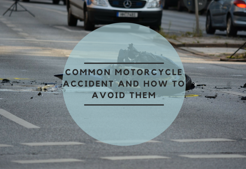 common motorcycle accidents and how to avoid them