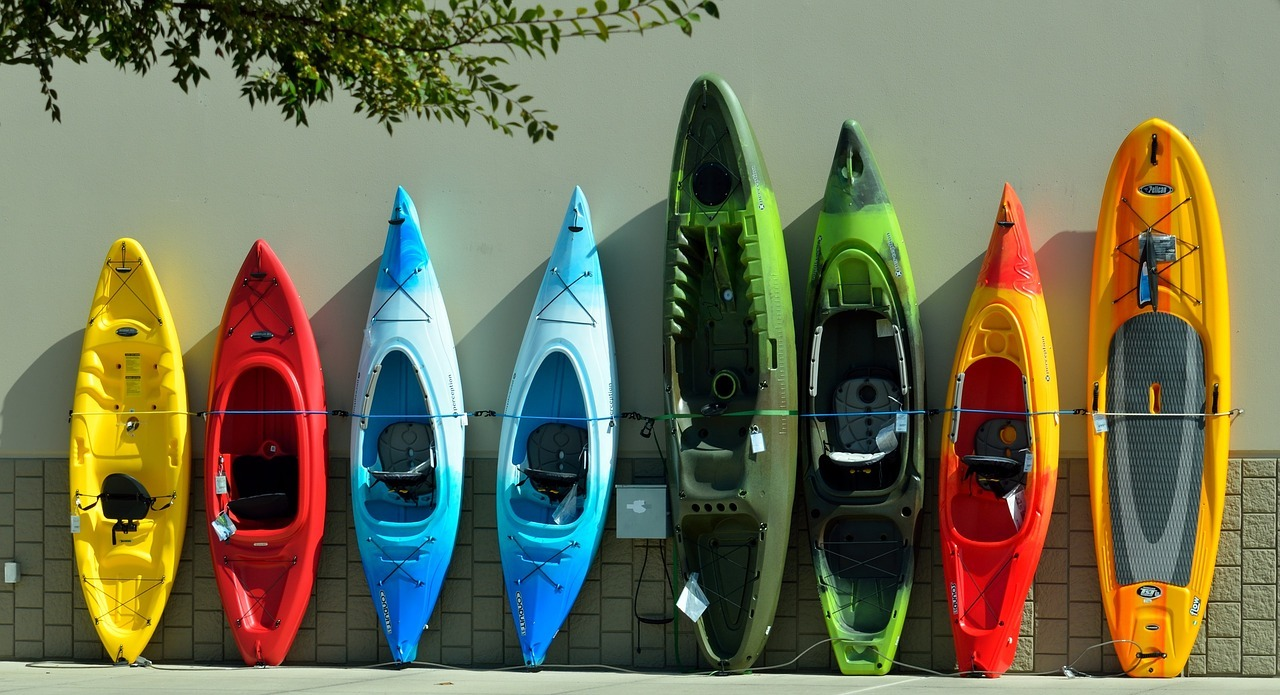 different kind of kayak