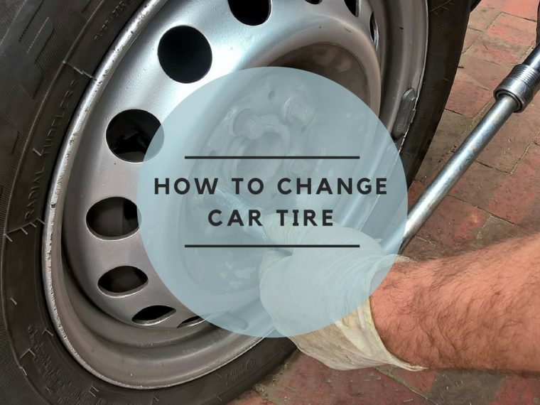 How to change car tire