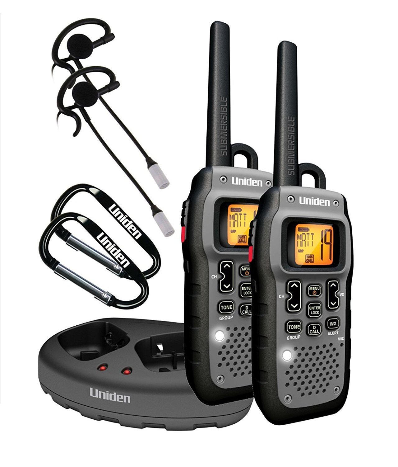 Uniden Submersible 50 Mile Two-Way Radios