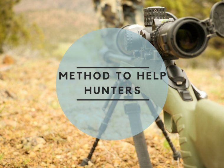 Method to help hunters