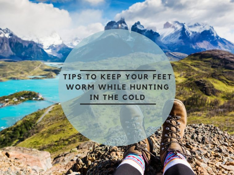 Tips to keep your feet warm while hunting in the cold