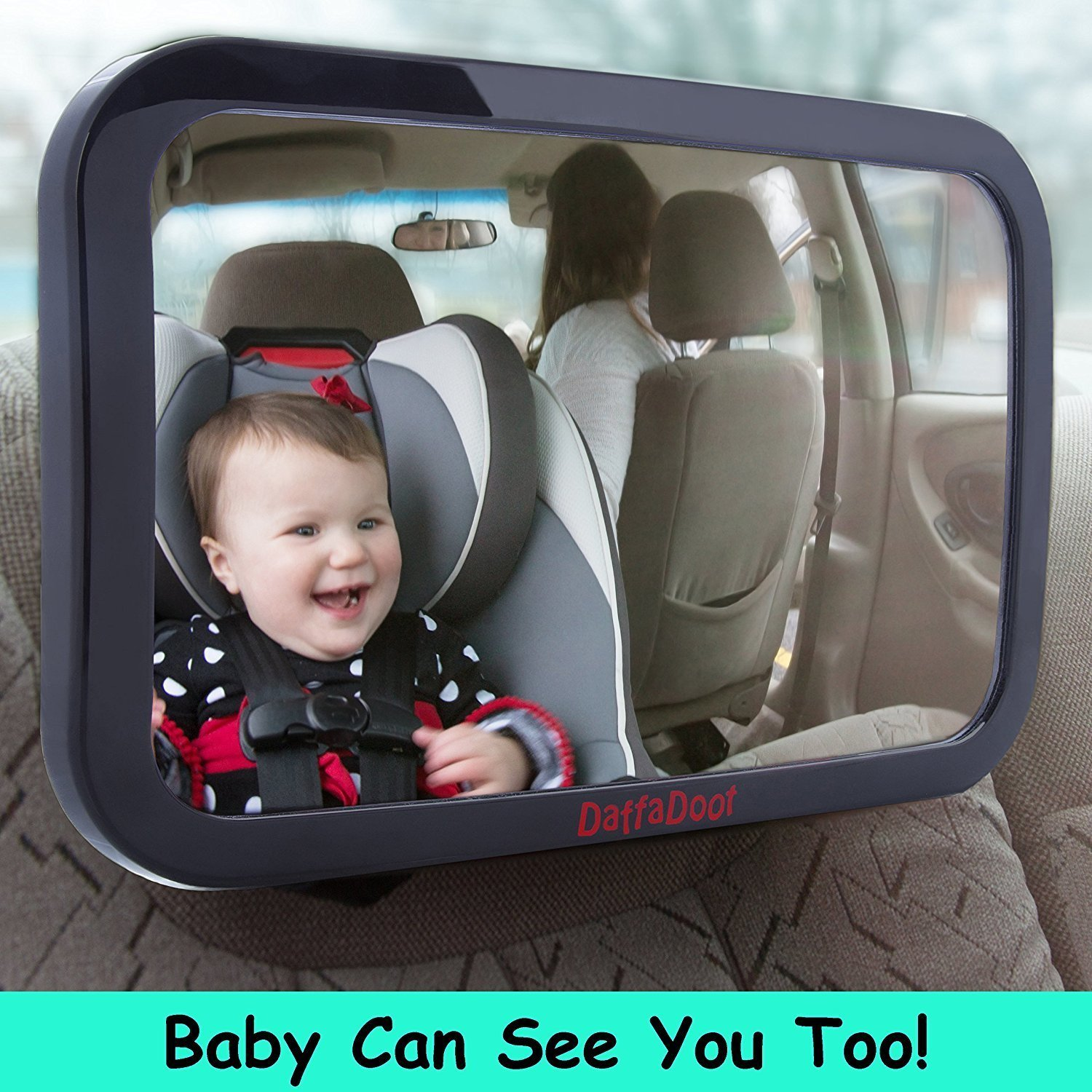 ​​DaffaDoot Baby Car Mirror