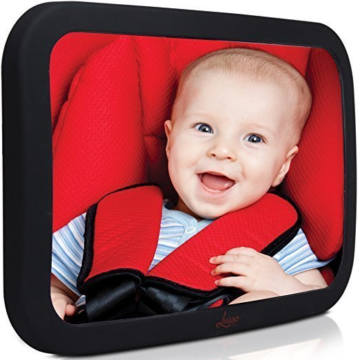 Lusso Gear Baby Backseat Mirror