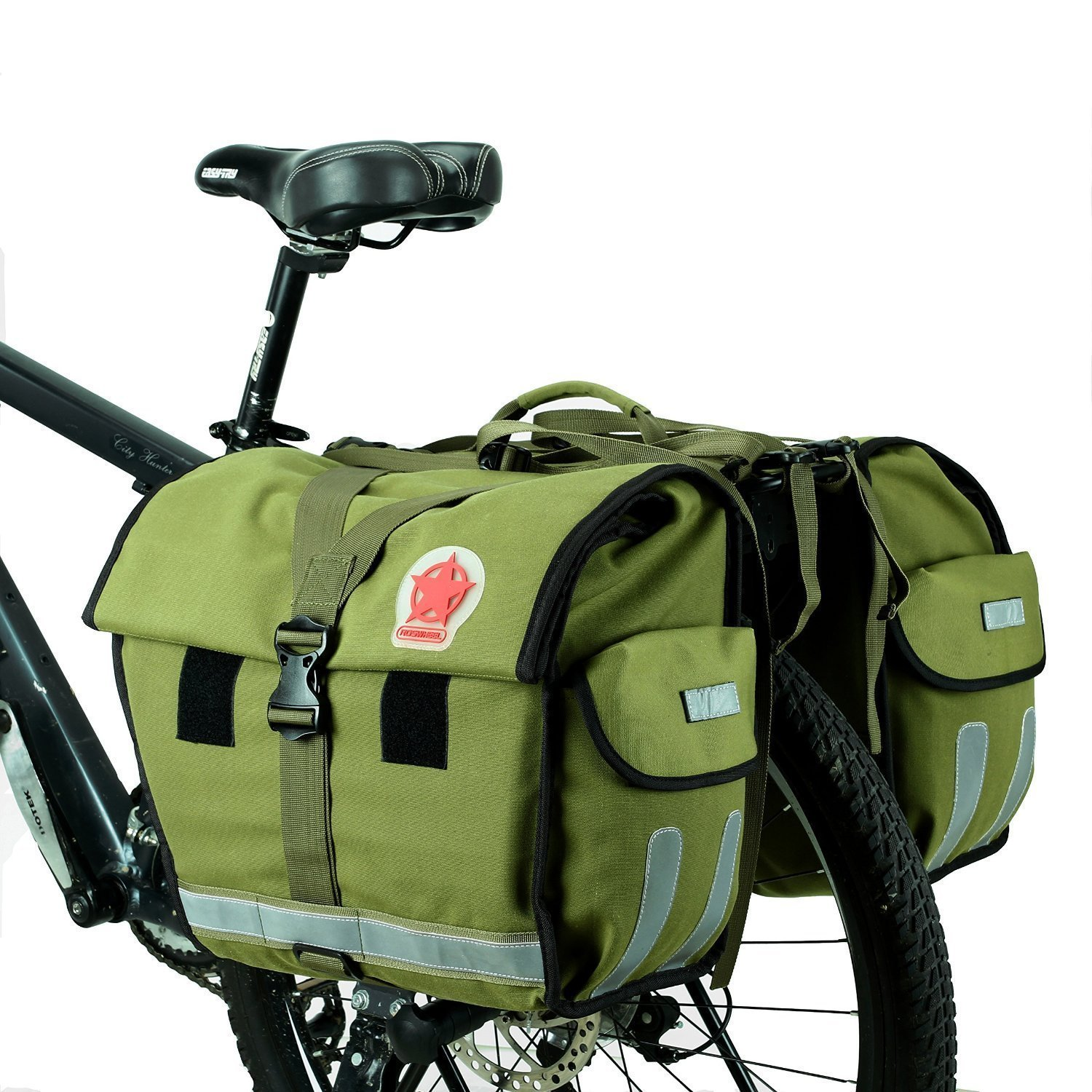 ArcEnCiel Water-Resistant Bicycle Pannier Bag