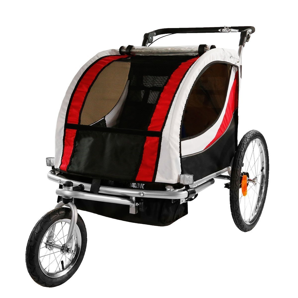 Clevr 2-In-1 Bicycle Trailer